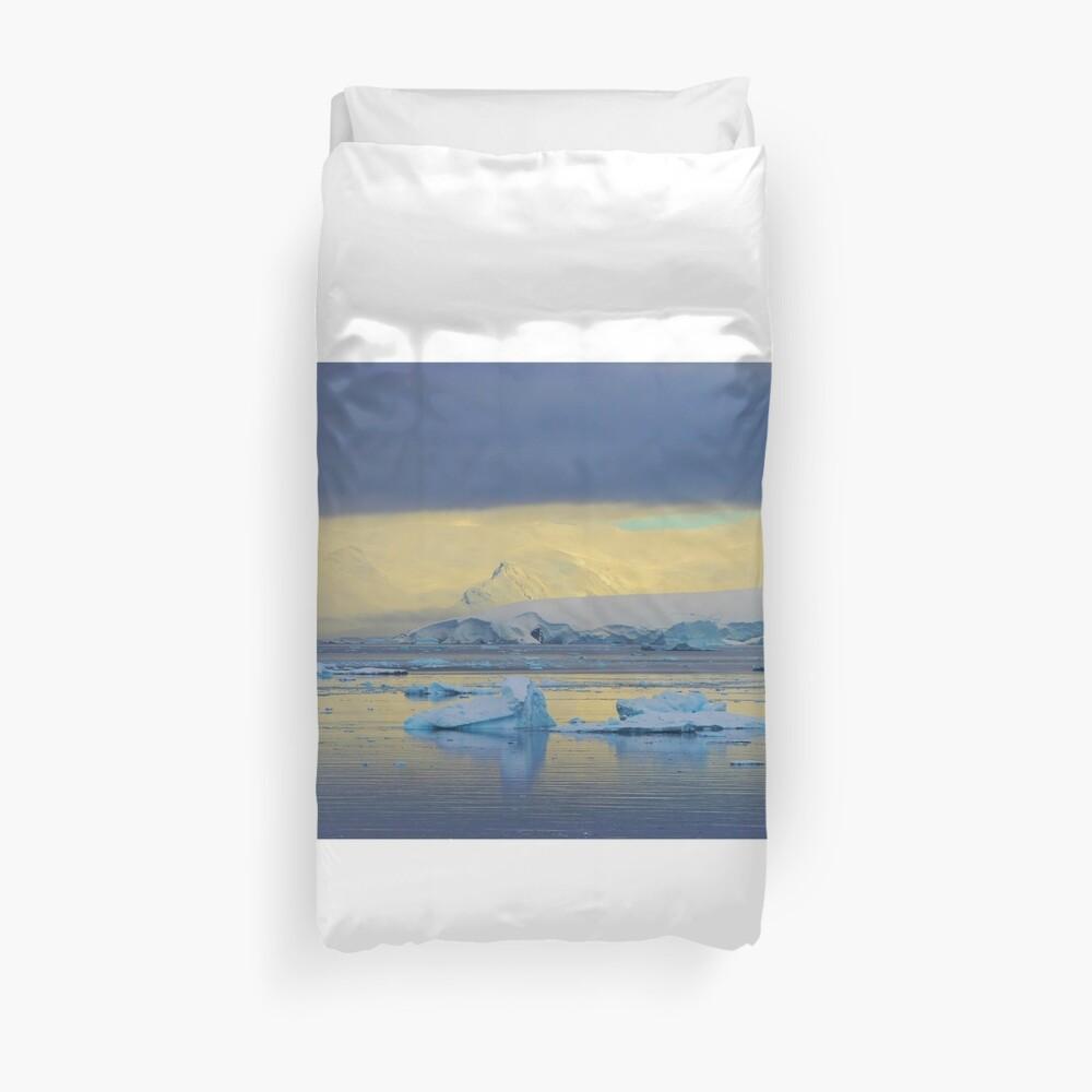 Morning Light, Antarctica Duvet Cover