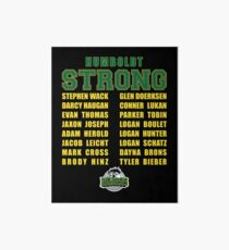 HUMBOLDT STRONG Art Board