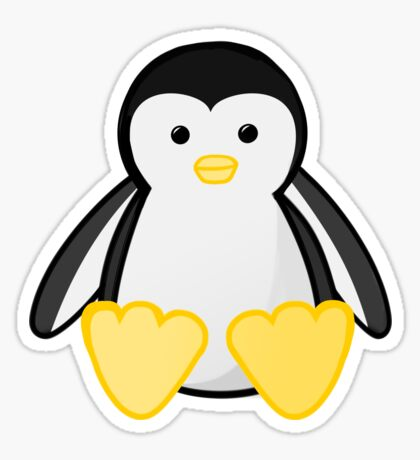 PENGUIN - WORLD'S COOLEST DAD - FATHERS DAY Sticker