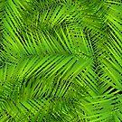 Emerald Floral by David Dehner