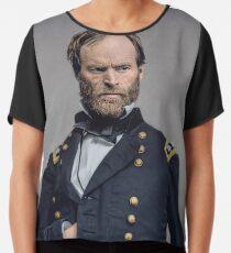 General William T. Sherman - Civil War Chiffon Top