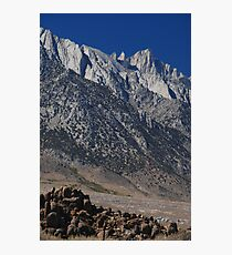 alabama hills Photographic Print