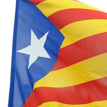 Catalan flag by stuwdamdorp