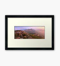 Redmans Bluff from Mt William, Grampians, Australia Framed Print