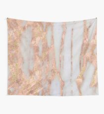 Aprillia - rose gold with golden flecks Wall Tapestry