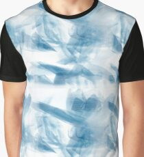 Blue tulips pattern Graphic T-Shirt