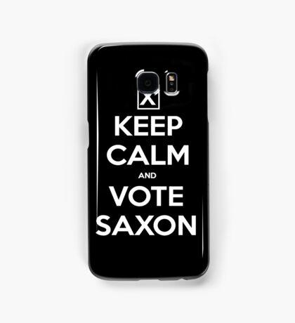 Vote Saxon  Samsung Galaxy Case/Skin