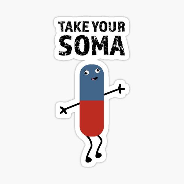 Nimm dein SOMA Sticker