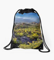 Arizona's Desert Landscape Drawstring Bag