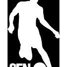 Mondial 2018 Runman Senegal Black by senegalatrussia