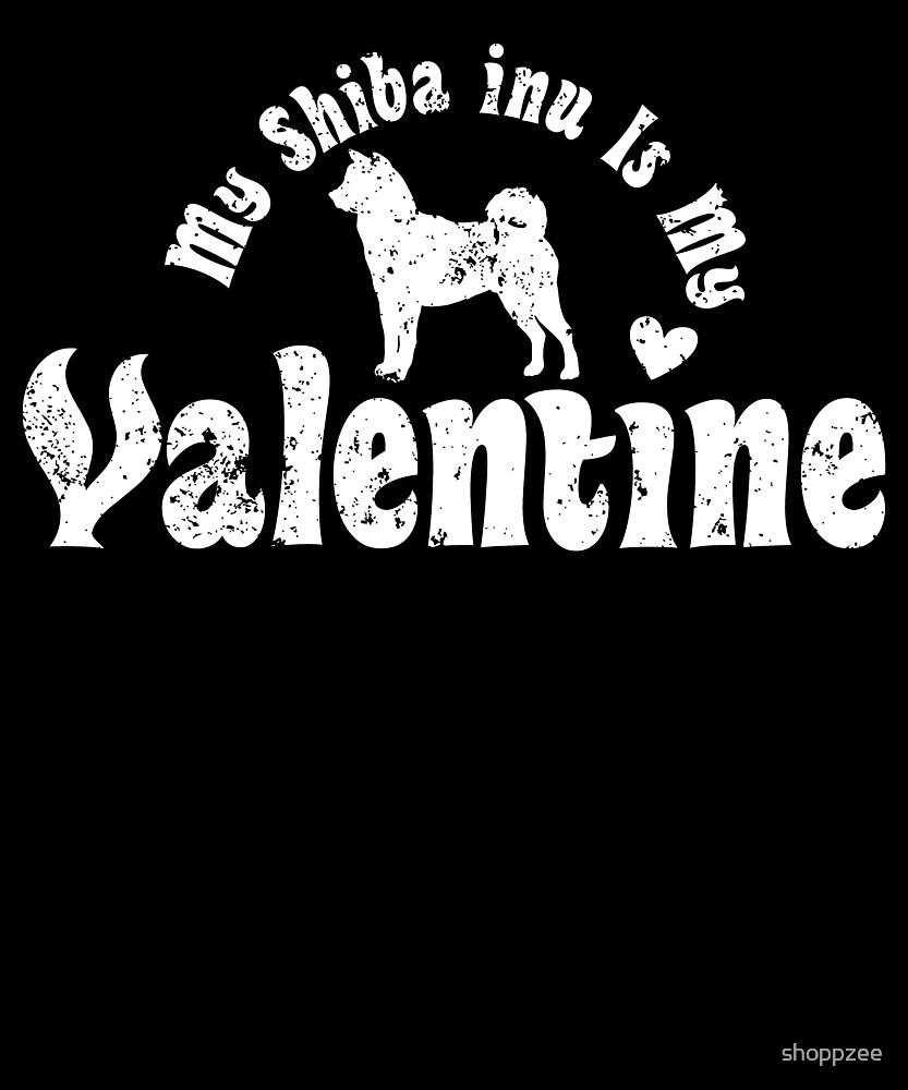 My Anti Valentine Shiba Inu by shoppzee