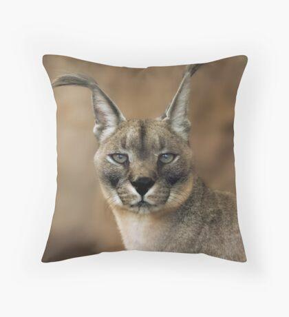 Caracal Throw Pillow