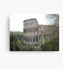 Il Colosseo, Roma Canvas Print