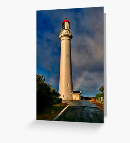"""""""Light At The End The Rainbow"""" Greeting Card"""