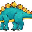 Stegosaurus by Rowena Aitken