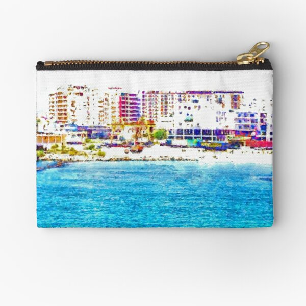 Vlore from the sea Zipper Pouch