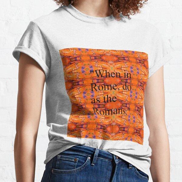 Modish, original, ingenious, novel, own, individual, unorthodox, refined Classic T-Shirt