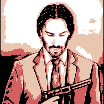 John Wick Inspired Portrait Art by Kathryn8