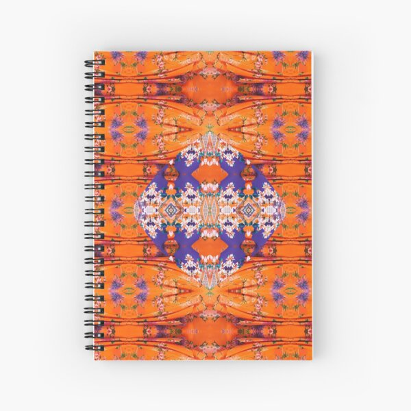 Pattern, tracery, weave, template, Sample, specimen, model, example Spiral Notebook