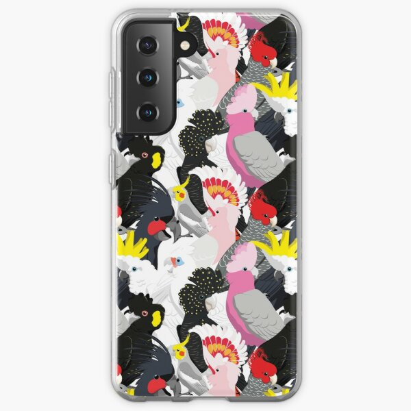 Cockatoo Fest Samsung Galaxy Soft Case