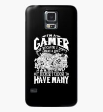 Dota 2 Shirts: I am a (DOTA) gamer. Not because I don't have a life, but because I choose to have many! Case/Skin for Samsung Galaxy