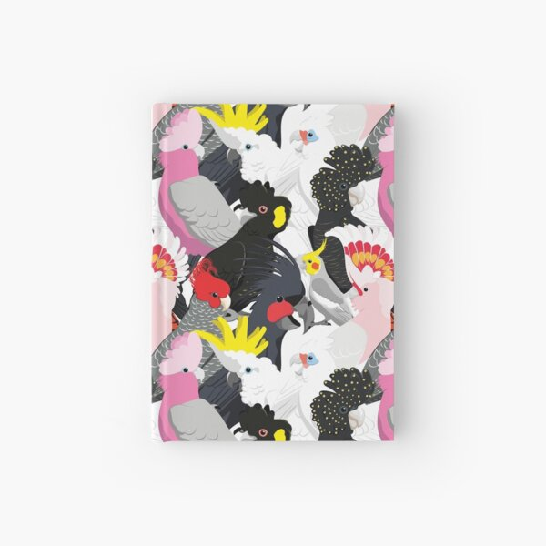 Cockatoo Fest Hardcover Journal
