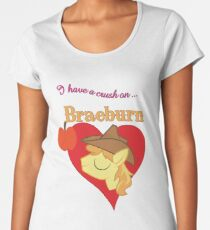 I have a crush on... Braeburn - with text Women's Premium T-Shirt