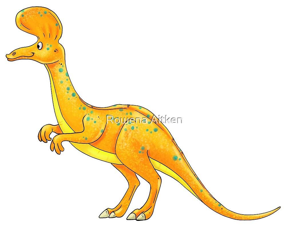 Corythosaurus by Rowena Aitken