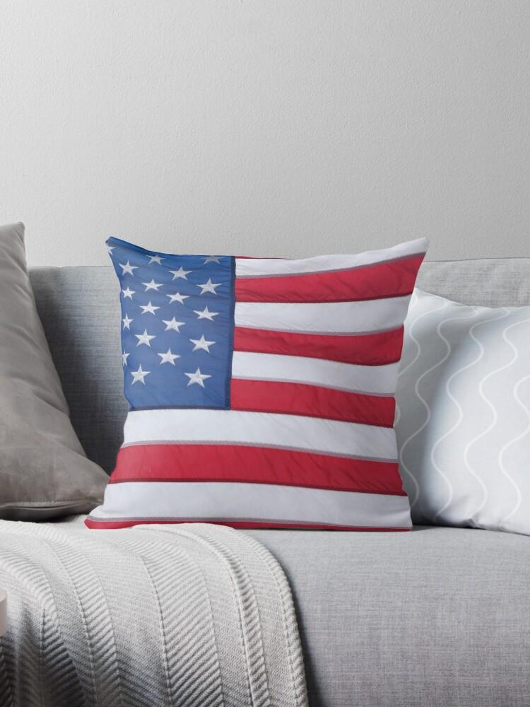US Flag by Jeri Stunkard