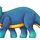 Triceratops by Rowena Aitken