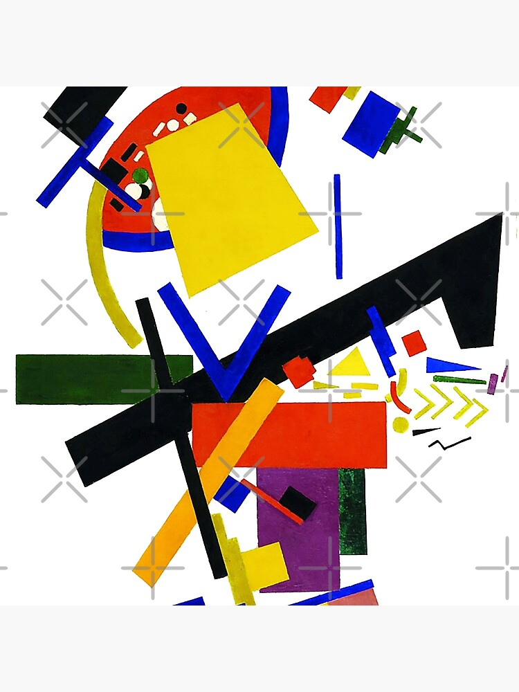 HD -  Suprematism , by Kazimir Severinovich Malevich 1913 High Definition by mindthecherry