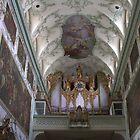 Pipe Organ St.Peter's Abbey, Salzburg Austria by Mythos57