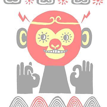Monkey by HuiSkipp