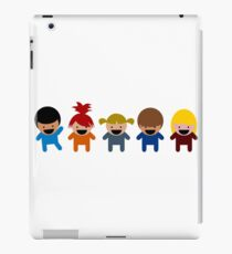 Cartoon Kid Characters iPad Case/Skin
