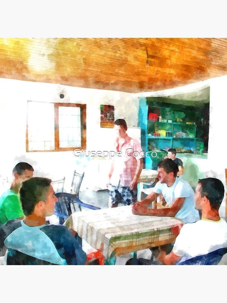 Jungs in der Bar von giuseppecocco