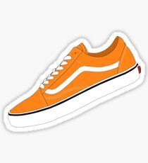 Vans - Orange / White Sticker