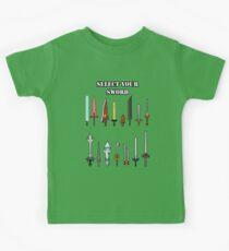 Select Your Sword Kids Tee