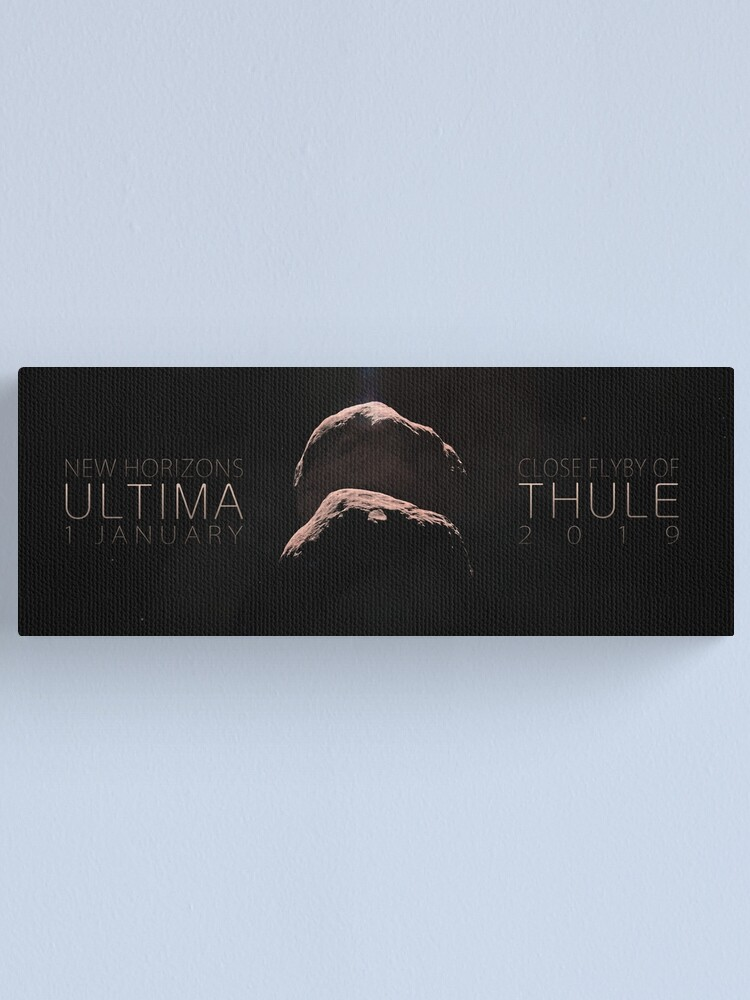 Alternate view of ULTIMA THULE Canvas Print
