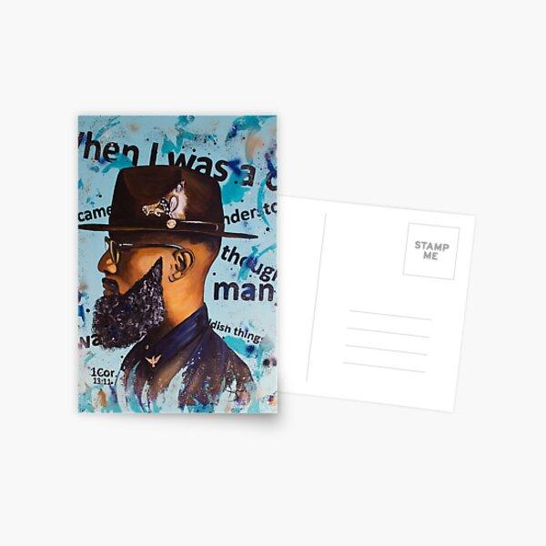 Man Postcard