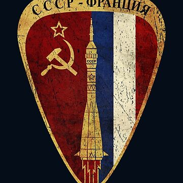 CCCP France Союз Mission Alliance by Lidra