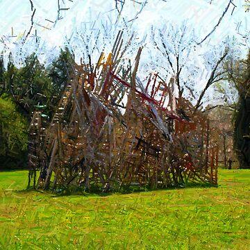 Ladders by JudyGayle