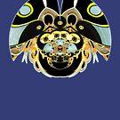 Psychedelic Beetle by webgrrl