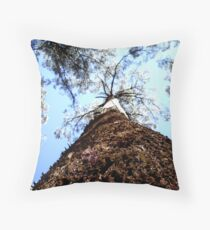 Dandenong Tree Throw Pillow