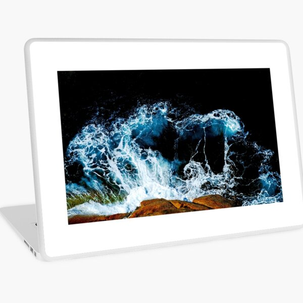 The Wave was taken from the top of the mountains Laptop Skin