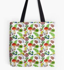 In the forest (Mushrooms) Tote Bag