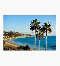 Laguna Beach Sunset Glow Photographic Print