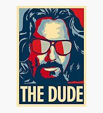 The Dude Photographic Print