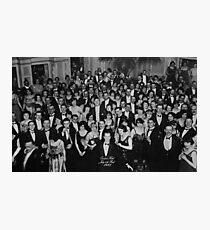 Lámina fotográfica Overlook Hotel Vintage Película