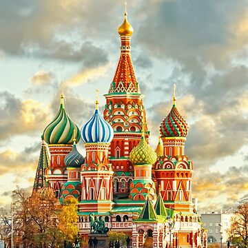 The majestic St. Basil's Cathedral, Moscow by 108189421