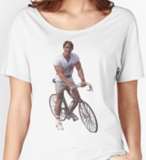 Arnold on a Bike Women's Relaxed Fit T-Shirt